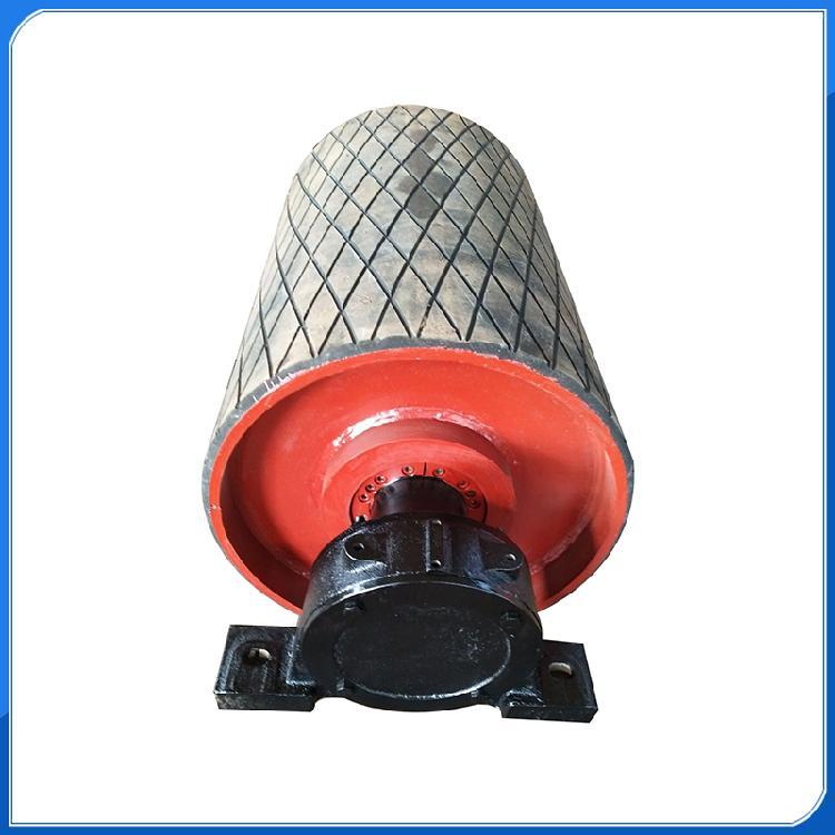 DTII型输送带主动滚筒 TD75型传动滚筒 运行平稳 使用寿命长
