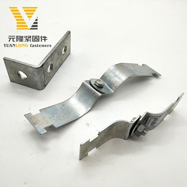 元隆抗震/管廊支架配件 限位件 平面链接件 支吊架连接件加工定制