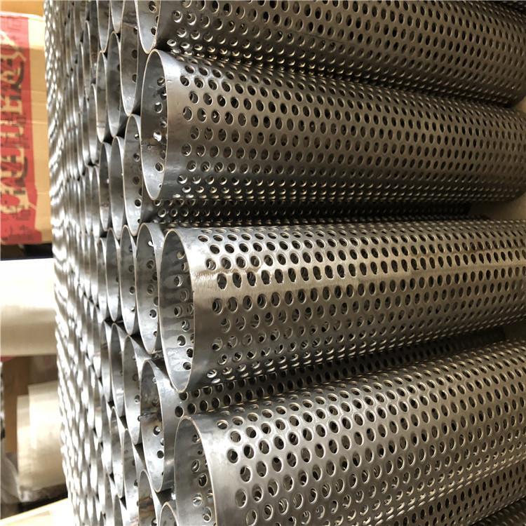 旗森  冲孔网过滤筒高质量 不锈钢过滤管优质 过滤器滤筒   厂家直销 批发 现货