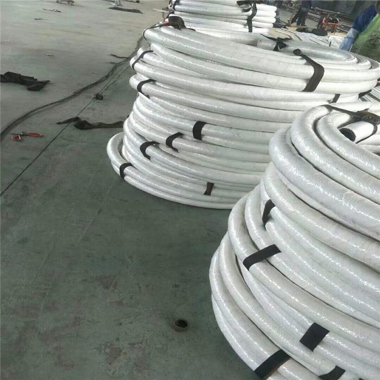 河北弘创直销夹布夹线阻燃耐温绝缘石棉胶管 防火阻燃石棉胶管 质量保证