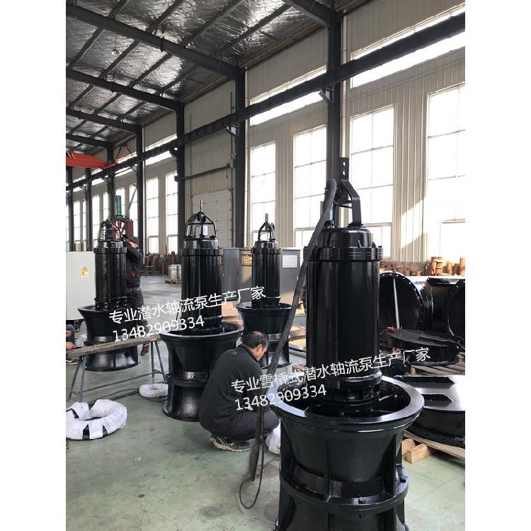 广西井筒式安装QZ潜水轴流泵品牌厂家
