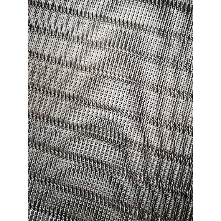 厂家直销人字形加密输送带 314耐高温网带 淬火炉热处理不锈钢网带