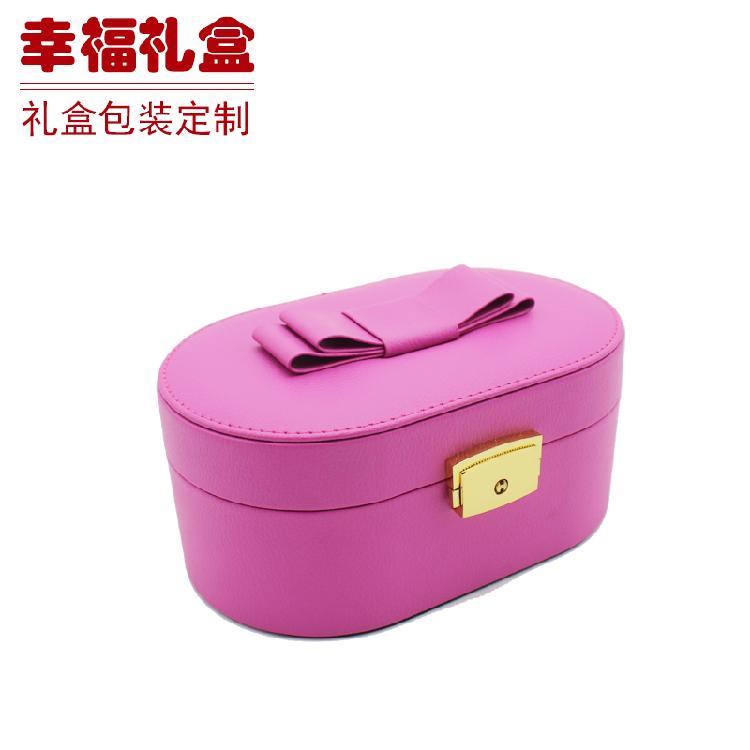无锡珠宝收纳盒(粉色)化妆品盒 食品盒 珠宝盒 皮箱 纸箱 纸制品包装 定制生产