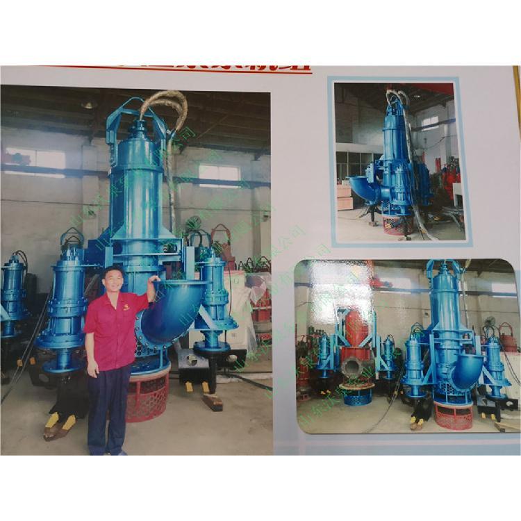 沃泉牌WJQ型电动清淤泵 耐磨渣浆泵 潜水砂浆泵