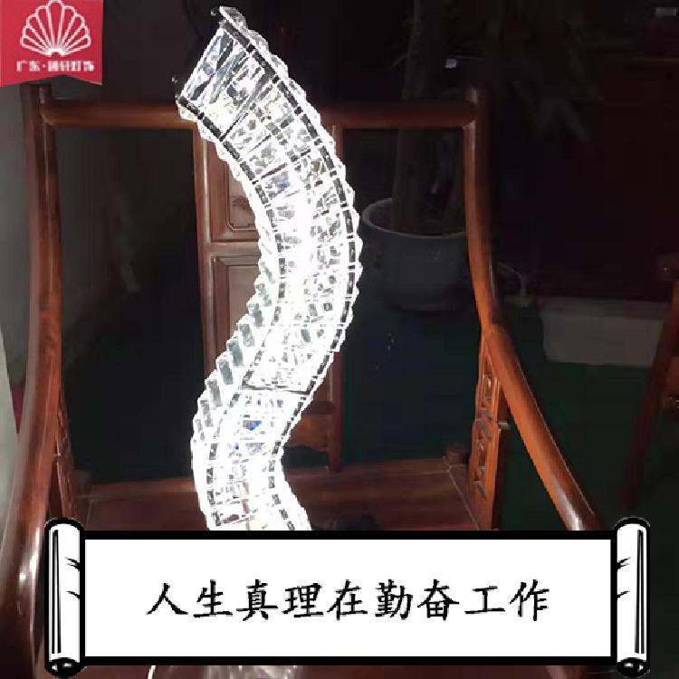 品牌厂家直销新款艺术台灯LED水晶台灯书桌台灯阅读台灯大堂台灯吧台灯客房台灯装饰台灯