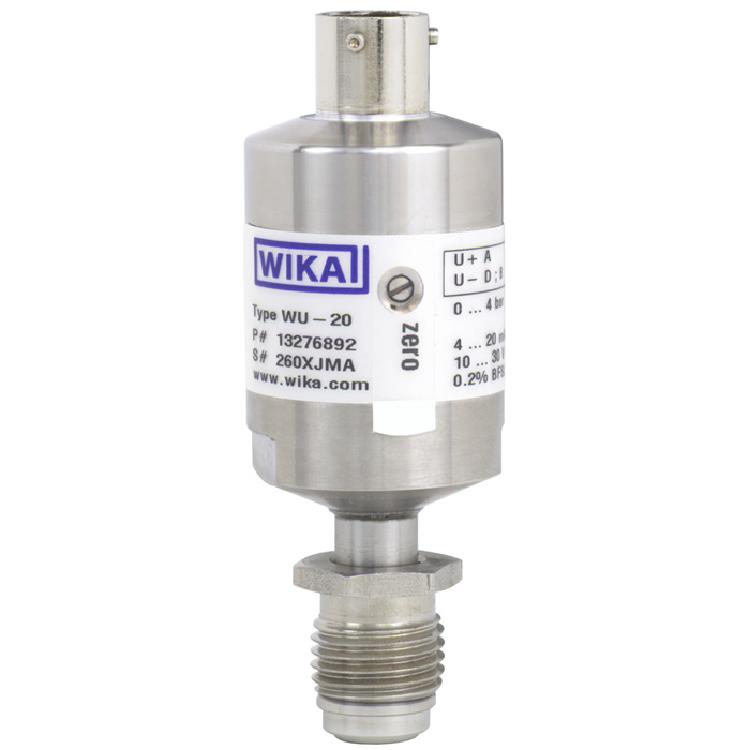 型号 WUC-10, WUC-15, WUC-16 超高纯度应用的传感器 用于防爆区域压力传感器