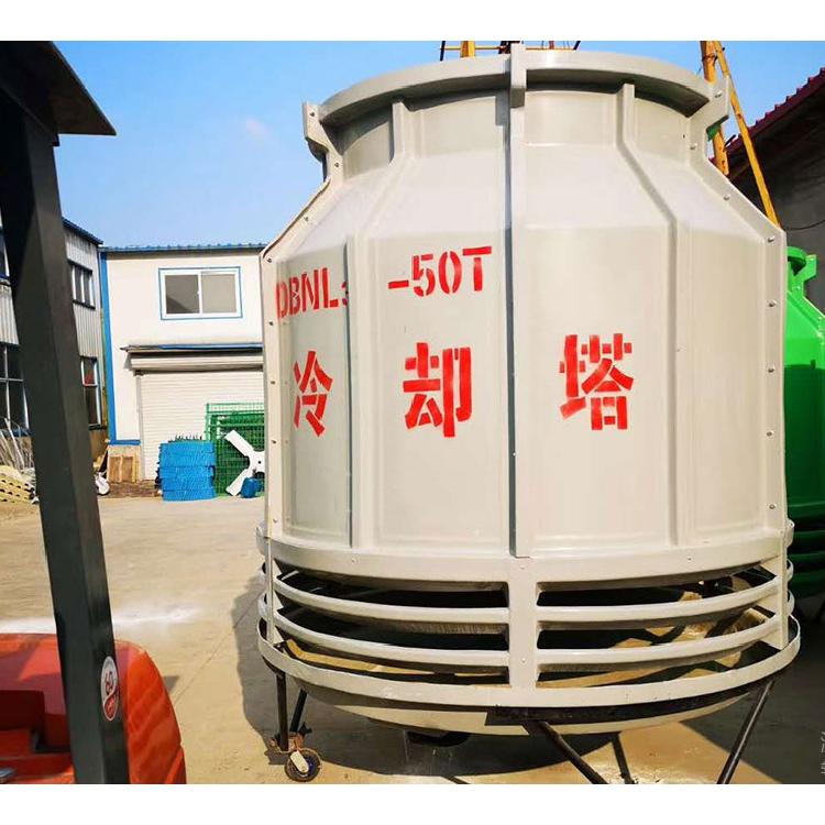 宏丰生产10T 20T 50T 200吨玻璃钢冷却塔 圆型冷却水塔 散热水塔 凉水塔