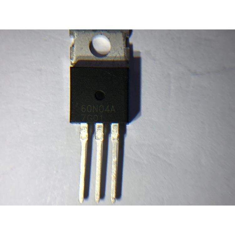台湾勤益GTM N沟道功率MOSFET GE60N04A TO-220