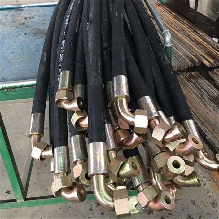 主营高压钢丝缠绕钻探胶管 高压钢丝胶管 矿用输水胶管 耐高压钢丝液压胶管