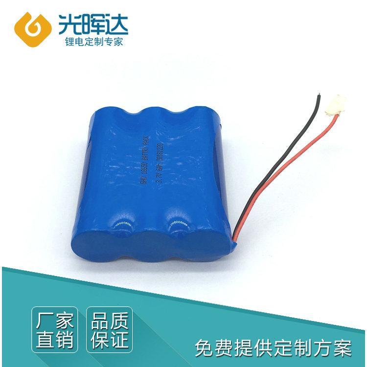 锂电池 生产厂家直销3.7V 6000mAh优质18650锂电池 加工