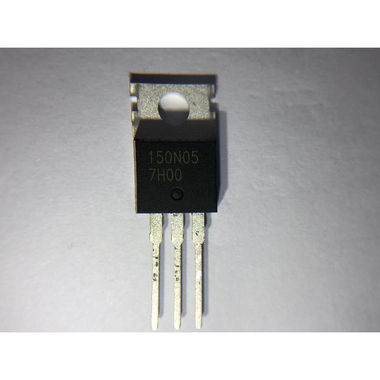 勤益电子 GTM N沟道功率MOSFET GE150N05 TO-220