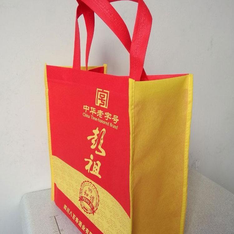 现货无纺布手提袋 优质服装购物环保袋 无纺布袋子批发