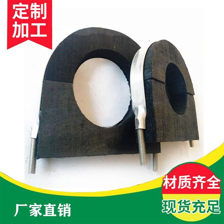 厂家出售 优质聚氨酯木托 管道固定专用管托 木哈夫 木哈夫定制