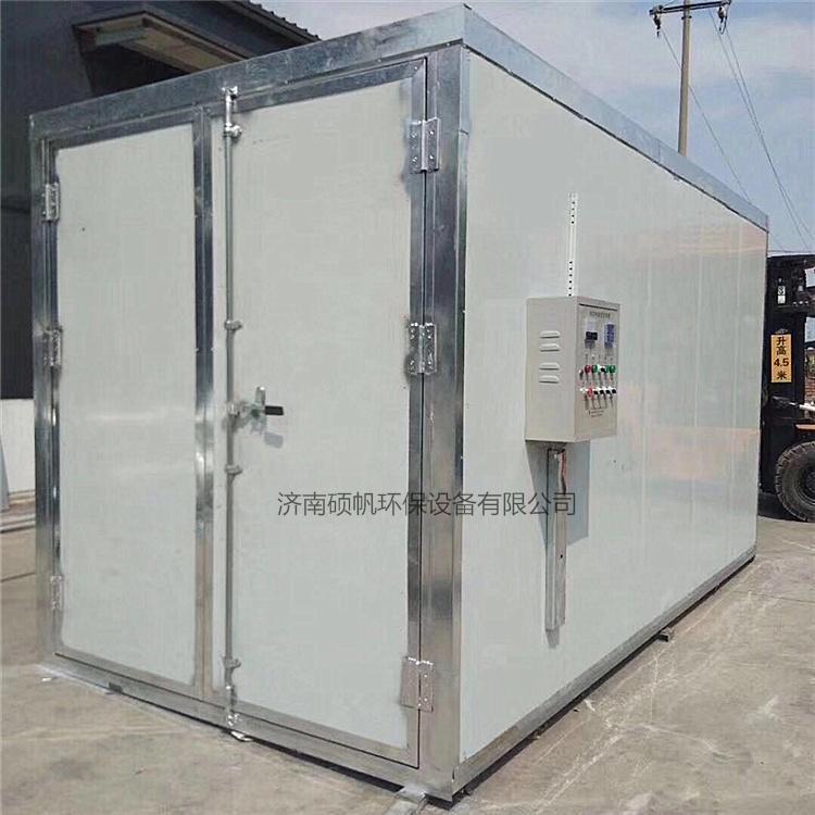 电加热高温烤漆房烤箱高温工业烤箱价格可议硕帆