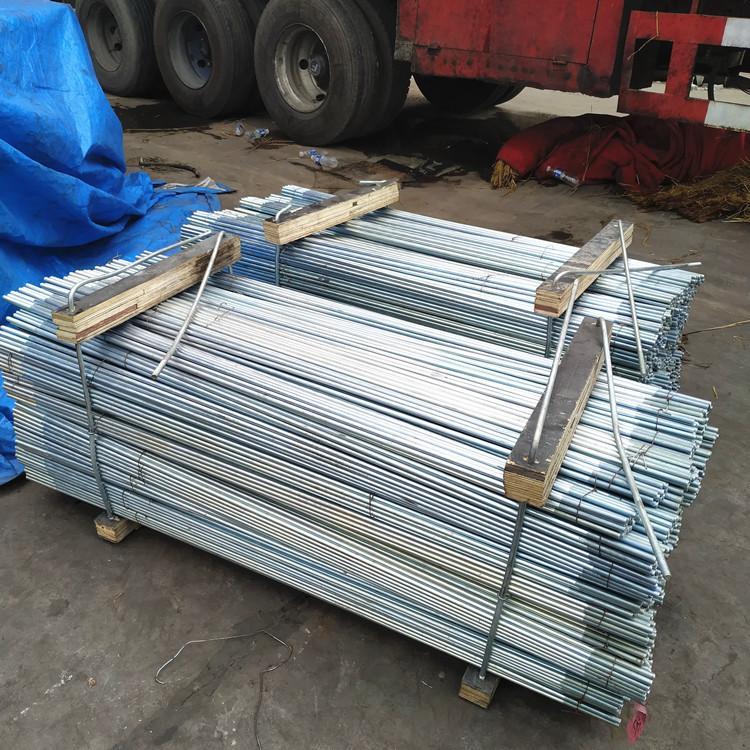 永年 力盾紧固件 钢结构拉条 镀锌拉条 热镀锌拉条 M12拉条 拉条生产厂家