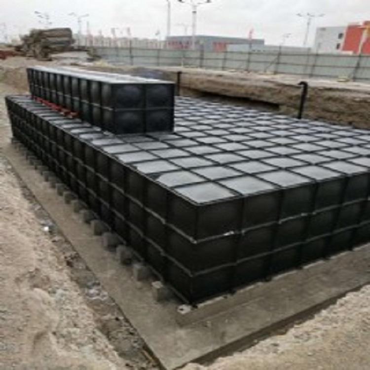 专业生产 高位消防水 消防水箱厂家 方形消防水箱 圆形水箱 宏康伟业