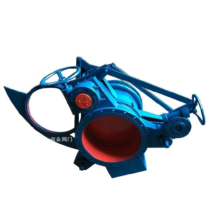 F573X蜗轮式手动眼镜阀   温州双金阀门有限公司供应