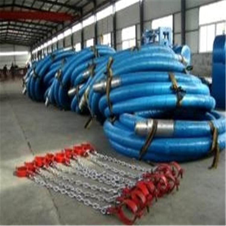 批发定制吸排油橡胶钢丝管 油田吸排油污胶管 海上漂浮输油管 钻探胶管