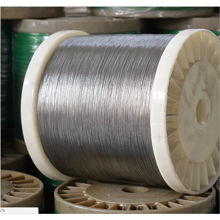 德力 镀锌钢丝绳 加工包胶镀锌钢丝绳 热镀锌钢丝绳