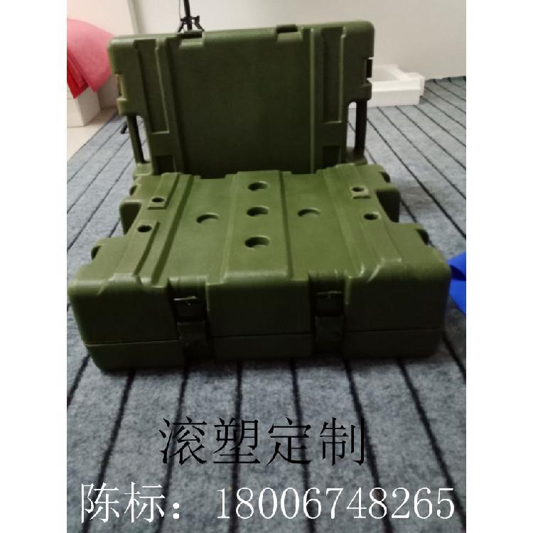 友特塑料滚塑箱生产 塑料想   工具箱  器材箱  军用弹药专用箱 ADV-504017