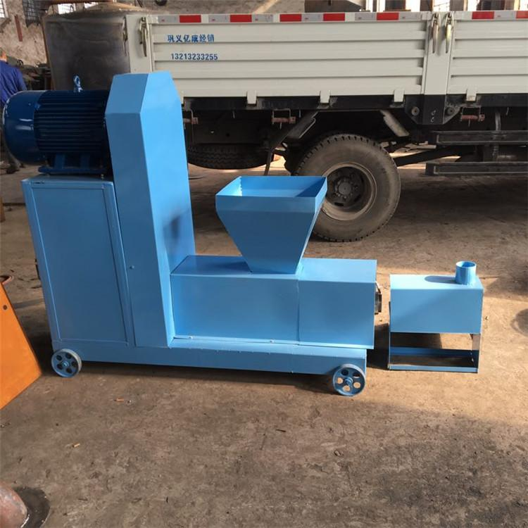 新型秸秆制棒成型机 环保无烟机制木炭机 木炭机生产线厂家
