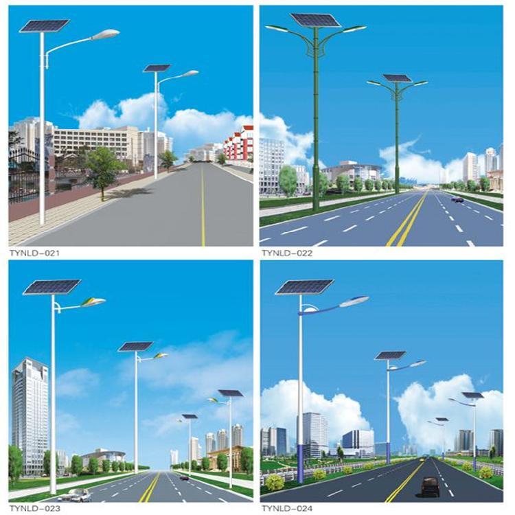 太阳能路灯杆/6米太阳能路灯/江苏太阳能路灯厂家/厂家直销/终生免费维护