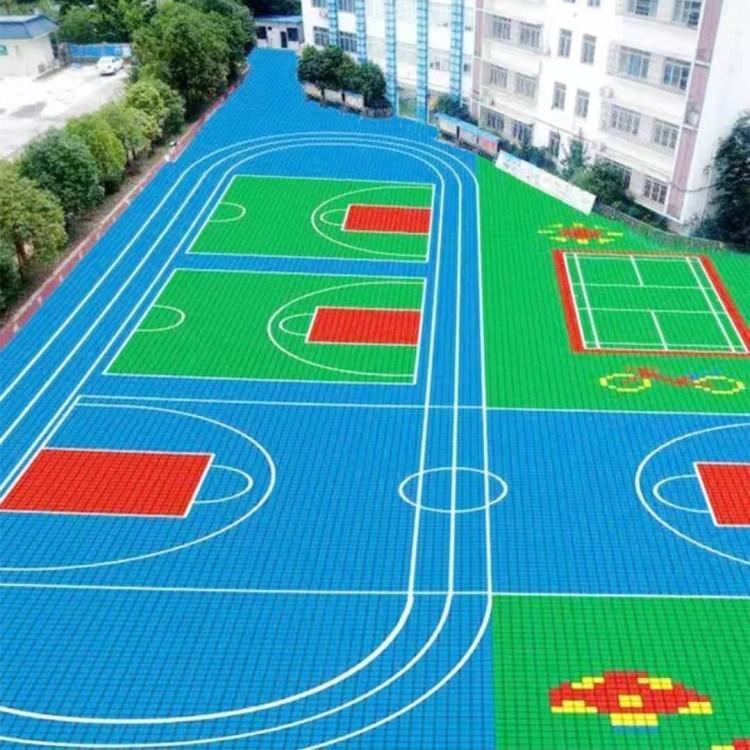 拼装地板 篮球场拼装地板河北聚隆体育质优价廉