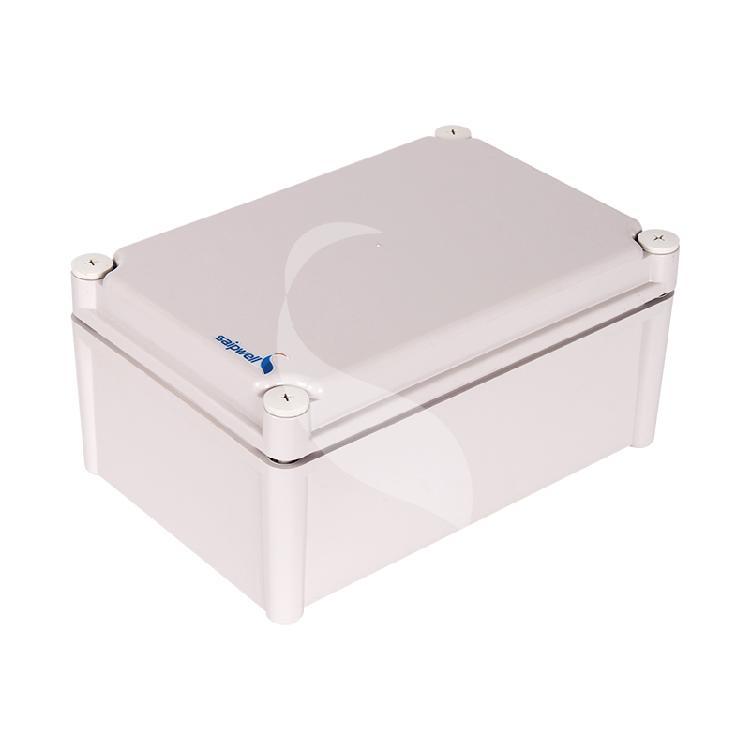 厂家热销工程接线盒 280*190*130mm防水塑料接线盒 四角螺丝固定