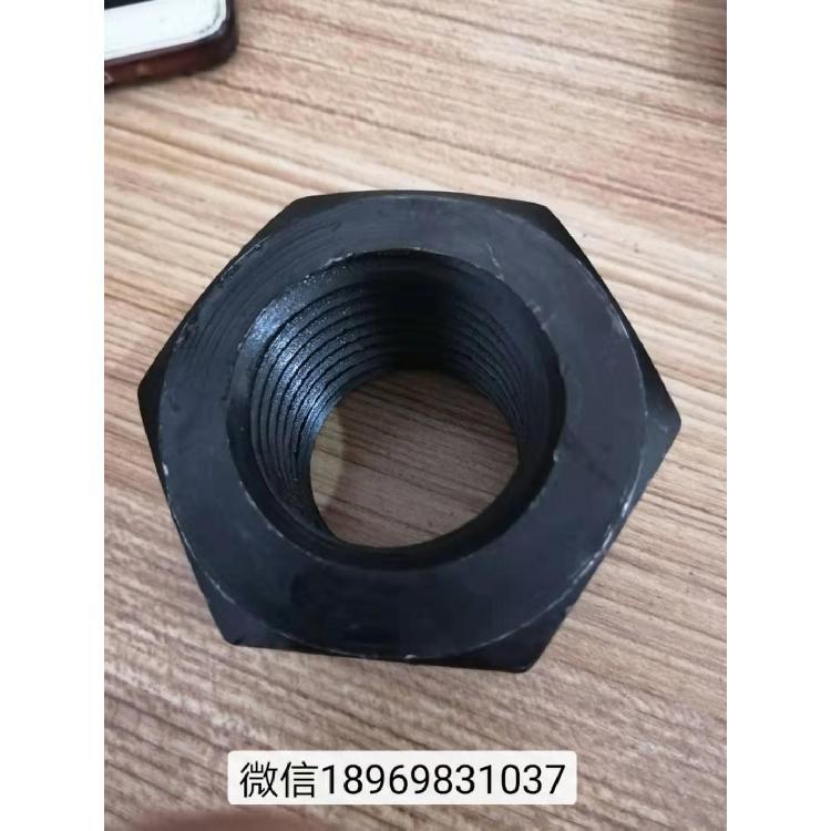 宁波盛谷高强度螺母GB6170六角螺母厂家直销 8级高强度m42六角螺母 国标六角螺帽保质保量
