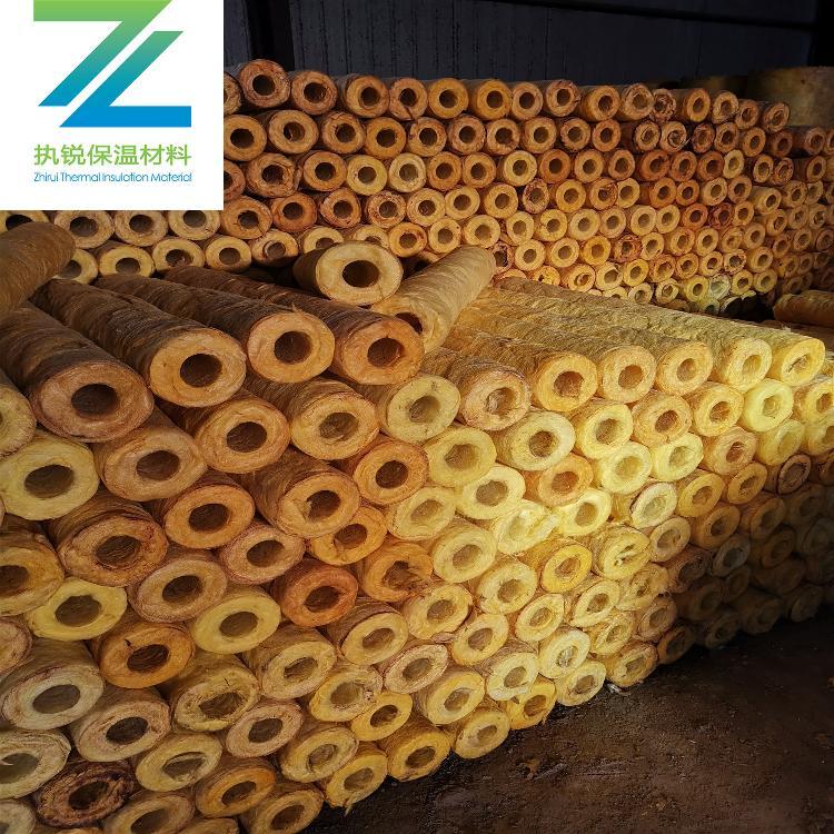 防火保温玻璃棉管专业更专注20年品牌保证