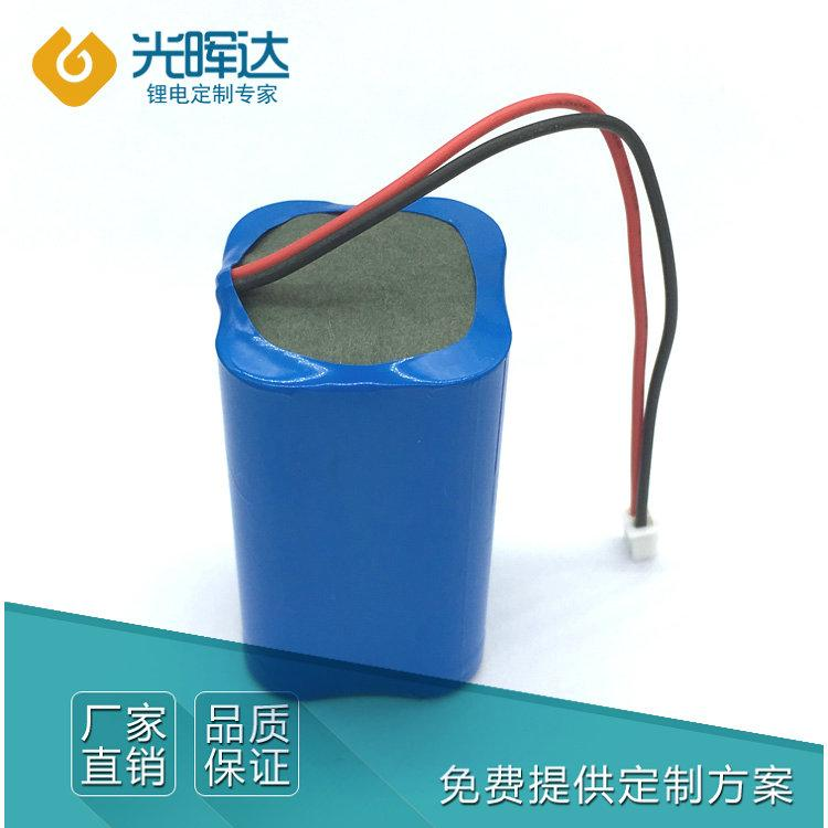 厂家加工定制 14.8V 2000mah 18650锂电池组电动工具锂电池 电动玩具 医疗设备电池