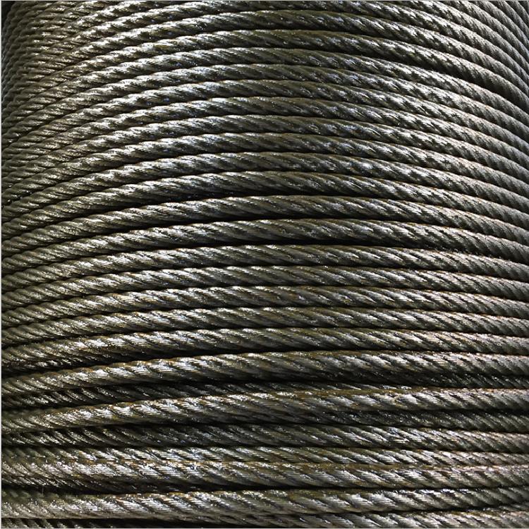 河北德力彩钢房专用包塑钢丝绳厂家 彩钢房专用涂塑钢丝绳生产厂家