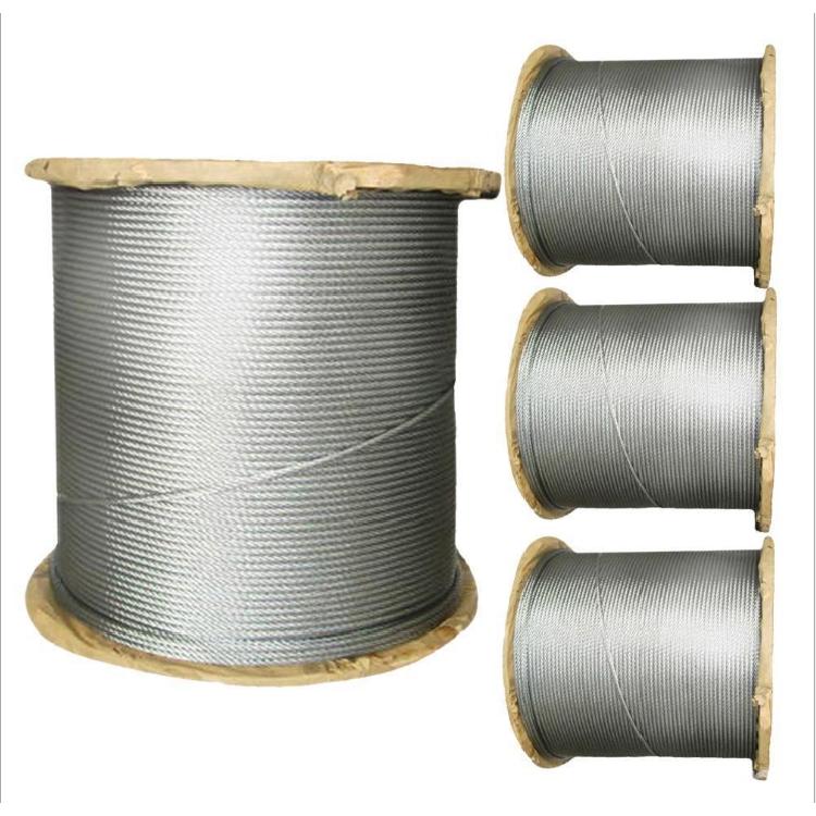 河北德力彩钢房用塑封钢丝绳厂家 彩钢专用塑封钢丝绳生产厂家