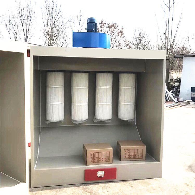 鸿运捷 专业生产塑粉回收机 静电喷涂粉末回收设备