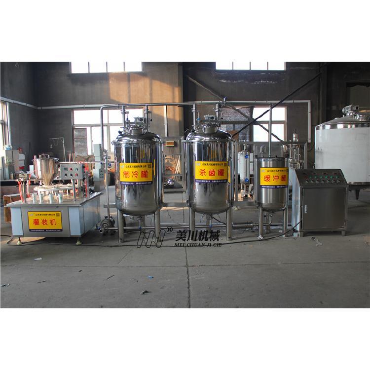 牛奶生产线工艺流程图