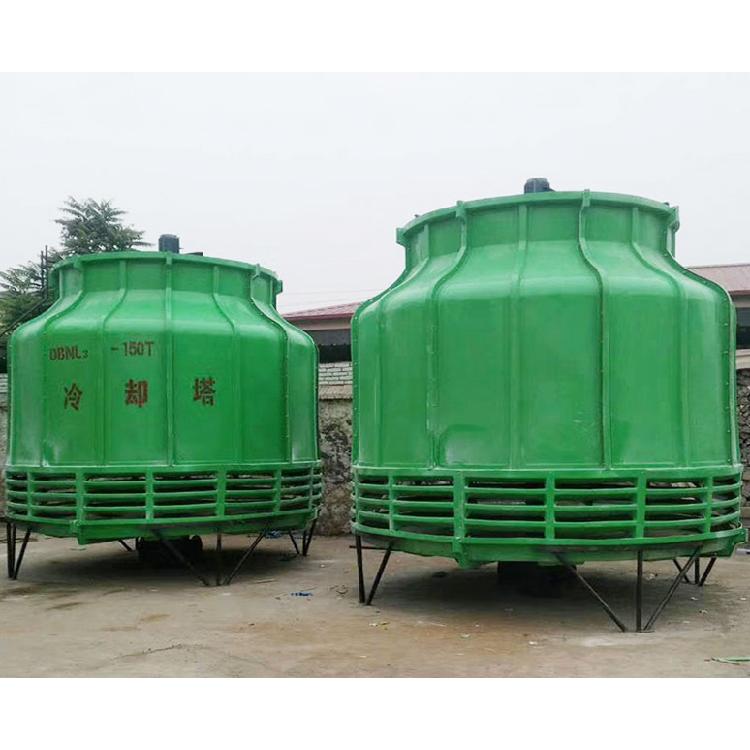 宏丰 玻璃钢工业用凉水塔 污水冷却塔 玻璃钢圆形冷却塔 厂家直销