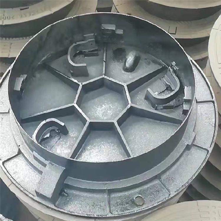 厂家批发 铸铁篦子重型球 墨铸铁井盖雨水井盖 下水道井盖井