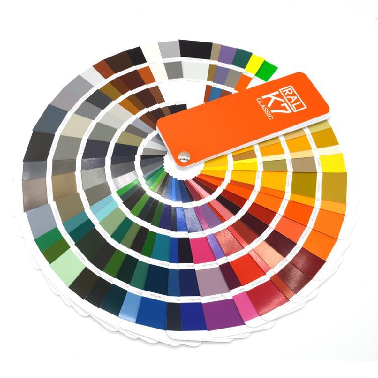 RAL色卡K7德国劳尔国际标准色卡油漆涂料色213个颜色