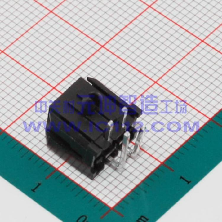 供应电子元器件MX3.0mm 43025 3.0-2x2AW弯针