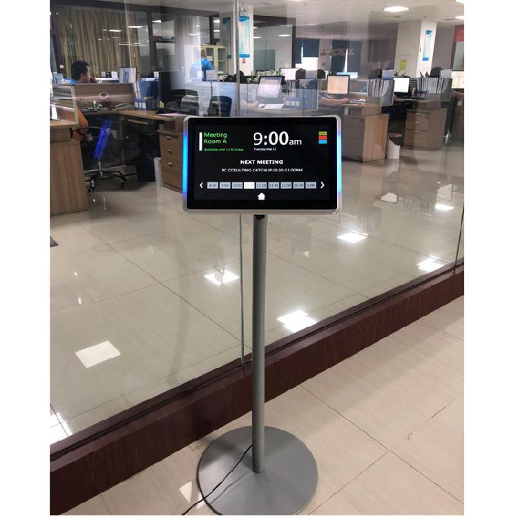 泰如电子工厂直销  新品上市平板电脑展示支架 落地立式通用移动支架 黑银两款批量现货