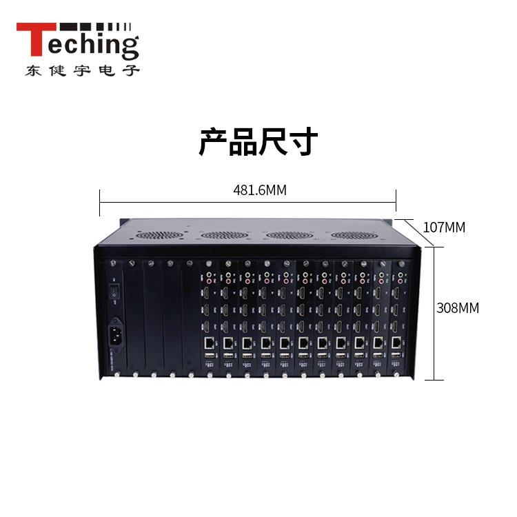 高清视频解码处理器品牌 网络数字矩阵 IP网络解码矩阵