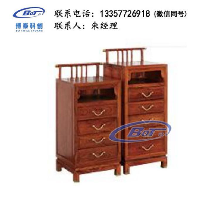 厂家直销 新中式家具 新中式斗柜 传承系列 传承四五抽斗柜 刺猬紫檀 GF-53