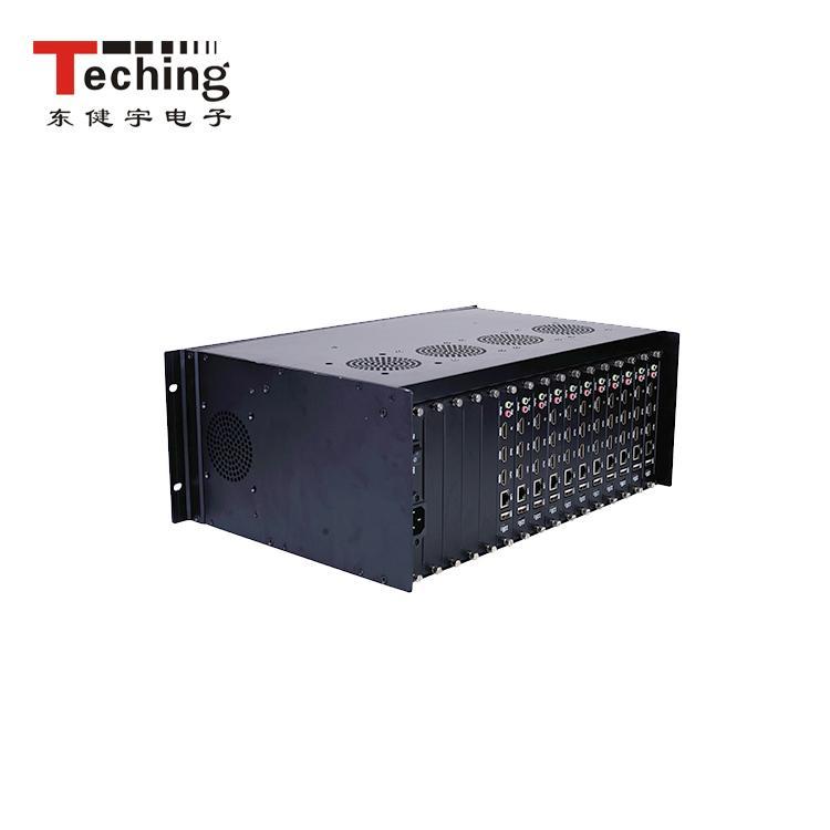 视频高清解码处理器 厂家 网络数字矩阵 IP网络解码矩阵