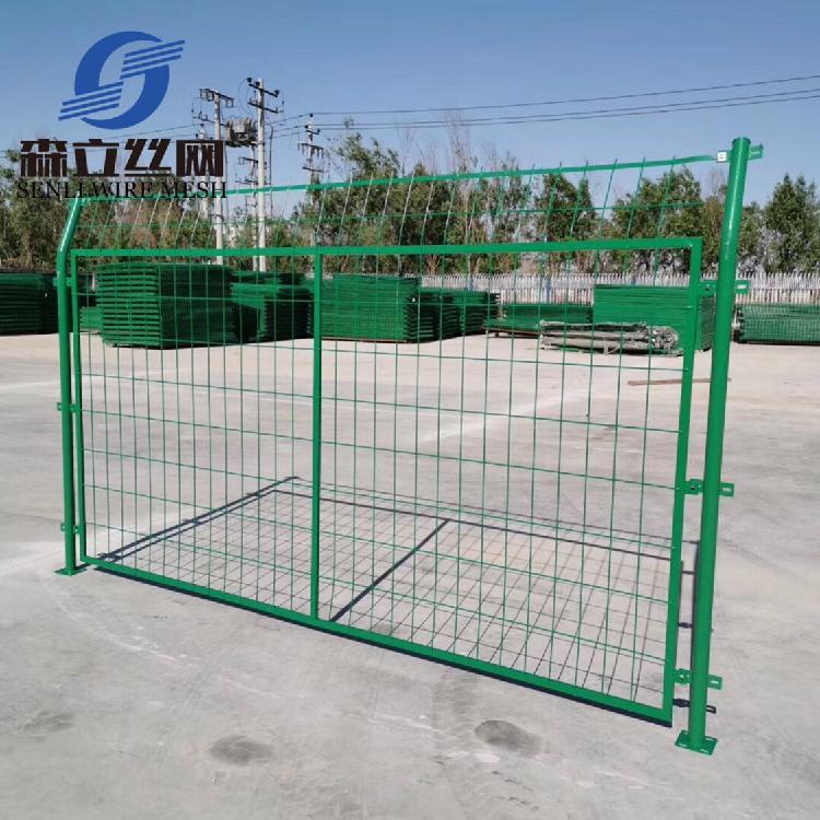 厂家现货批发双边丝绿色浸塑护栏网小区别墅围墙网 框架防护网