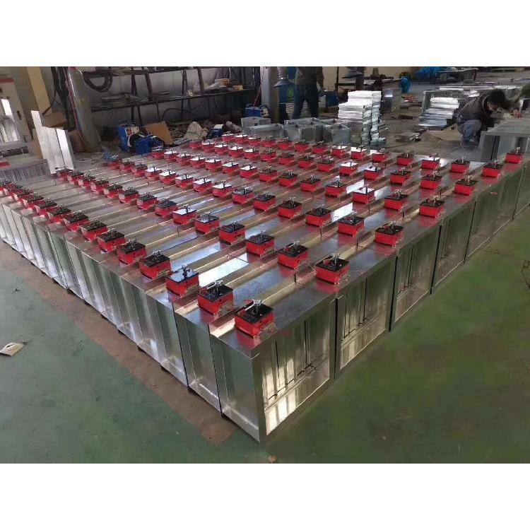 德州润博厂家生产 镀锌板排烟口 河北多叶排烟阀 不锈钢送风机  鲁德润博