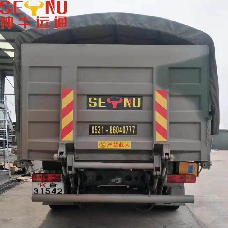 根据尺寸定做上门安装货车尾板集装箱卡车装卸平台部队车辆尾板