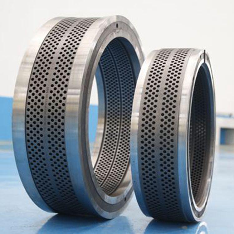 厂家直销 42生物质颗粒机环模 定做环模 压辊皮