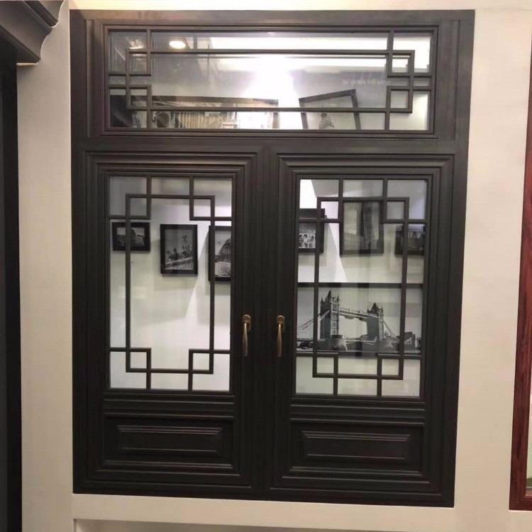 米格复古门窗 复古铝合金门窗厂家定制 免费测量