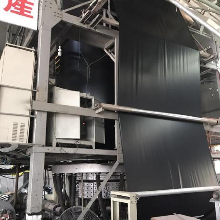 优质现货土工膜  糙面HDPE土工膜环保达标鱼虾养殖场专用200g/ 0.15防渗复合土工膜