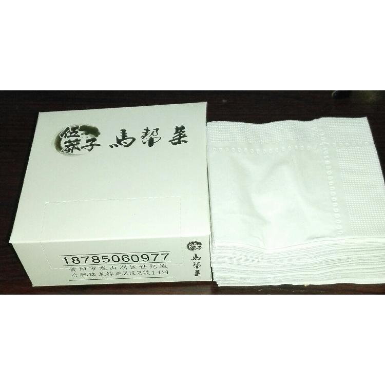 贵州贵阳餐饮酒店餐巾纸定做厂家